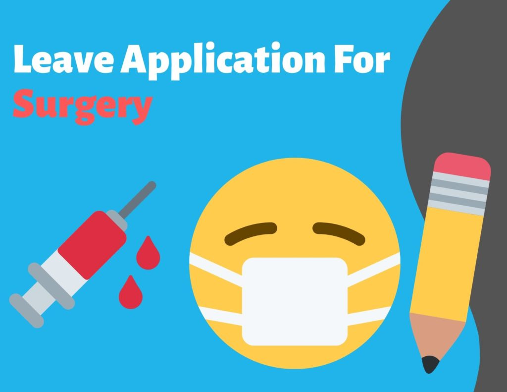 leave application for surgery