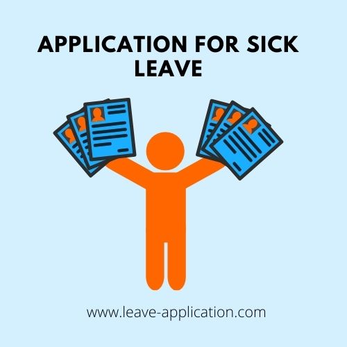 Application For Sick Leave